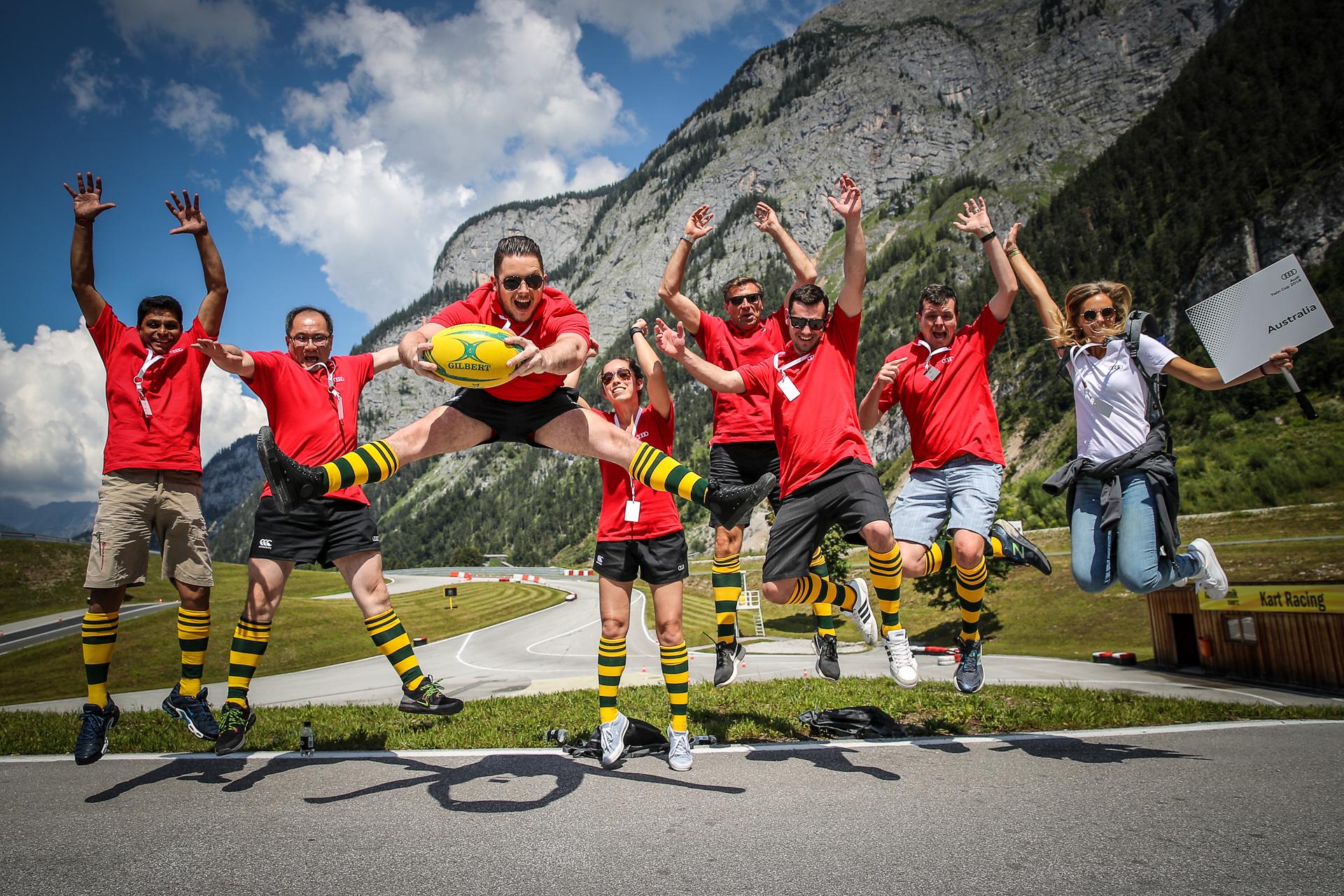 teambuilding outdoor motivation event salzburg