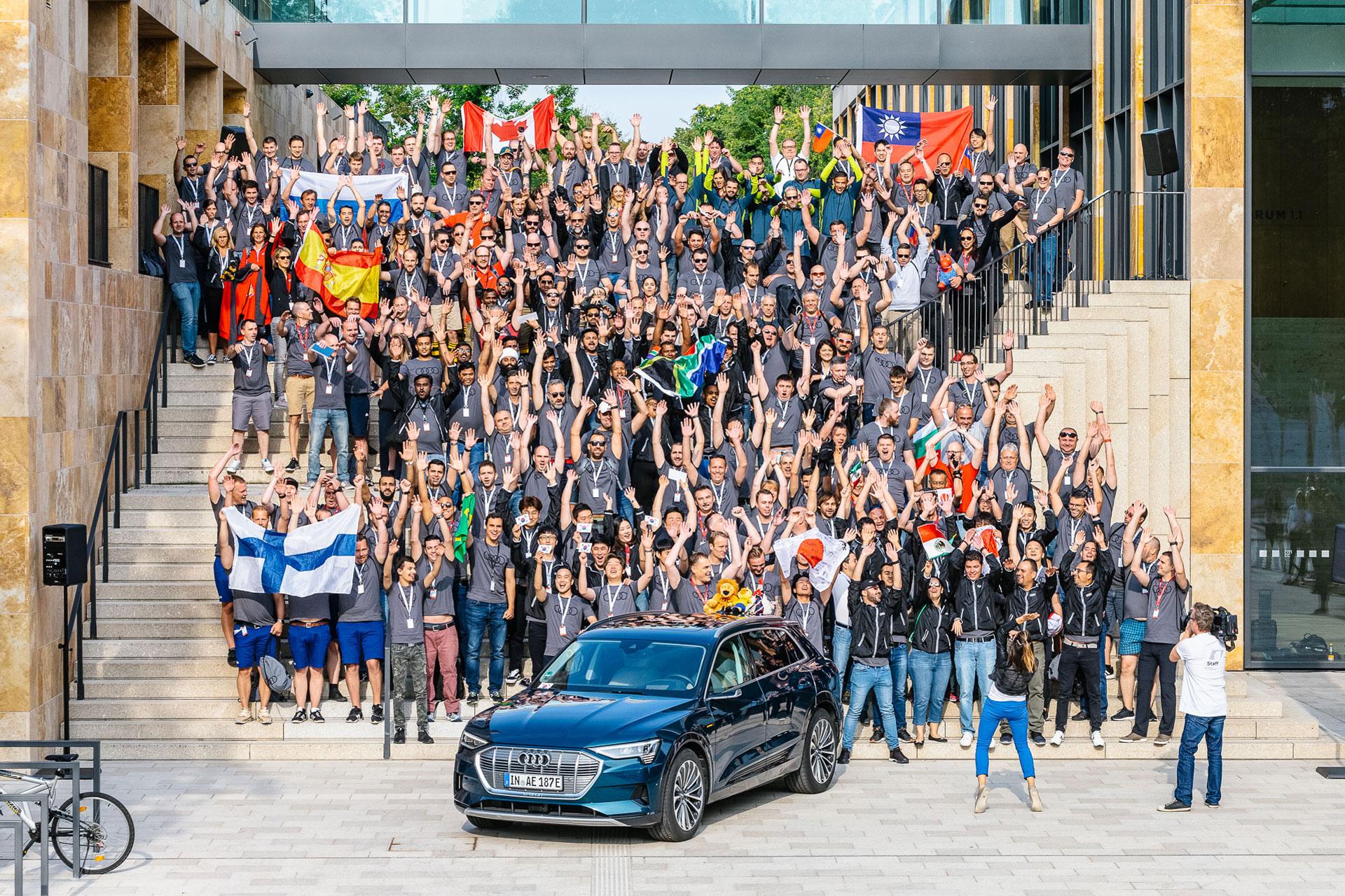 Audi Twin Cup Gruppenfoto Team Wiesbaden